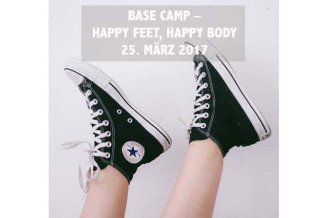 Base Camp- happy feet, happy body