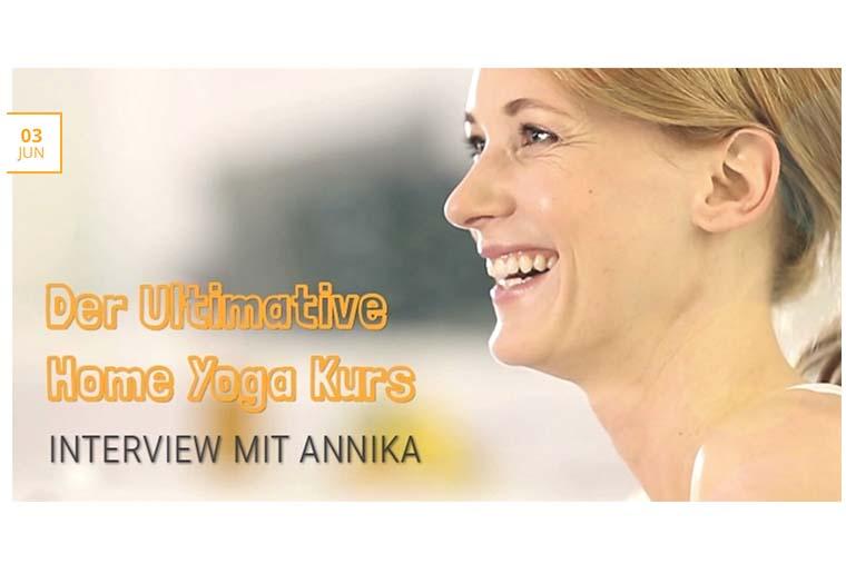 Interview zum Online Yoga Kurs