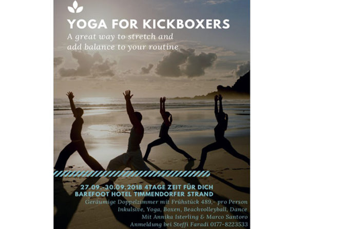 Yoga for Kickboxers with Marco Santoro and Annika Isterling